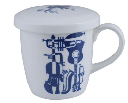 Music Mug with Lid Instruments