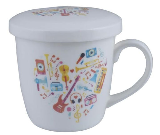 Music Mug with Lid Heart