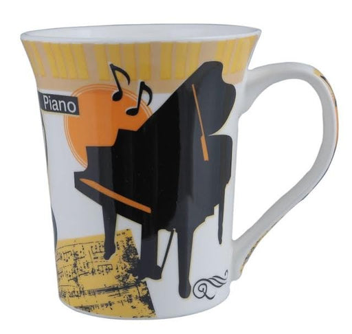 Coffee Mug Grand Piano Design