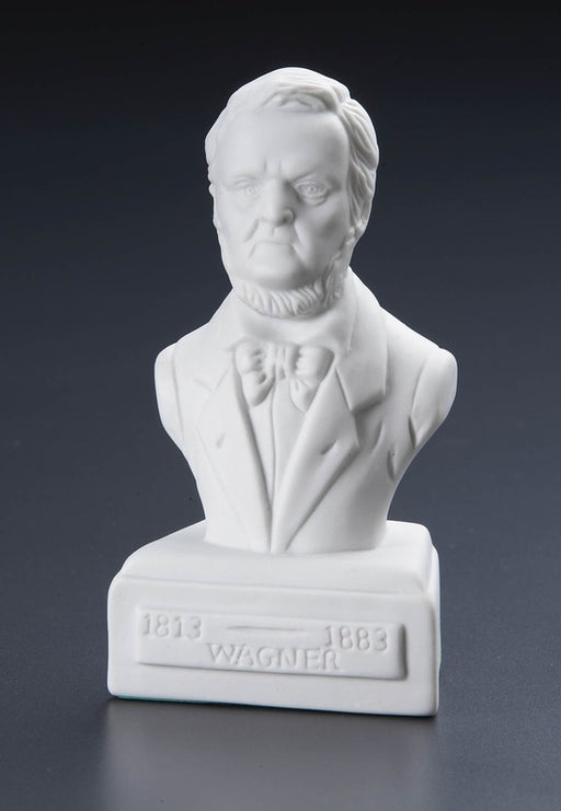Richard Wagner Statuette White Porcelain
