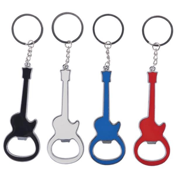 Bottle Opener/ Key Ring for Guitarists by