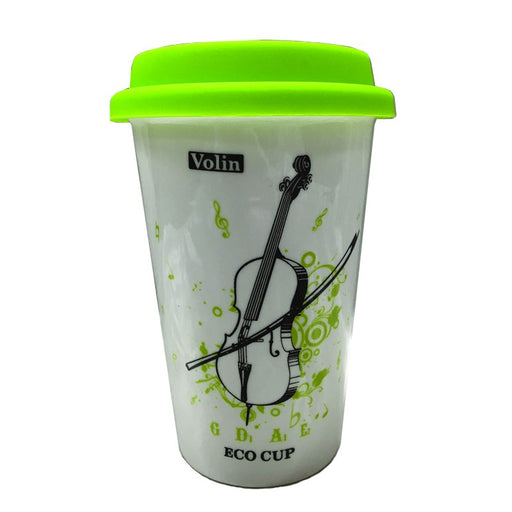 Music Travel Mug Violin