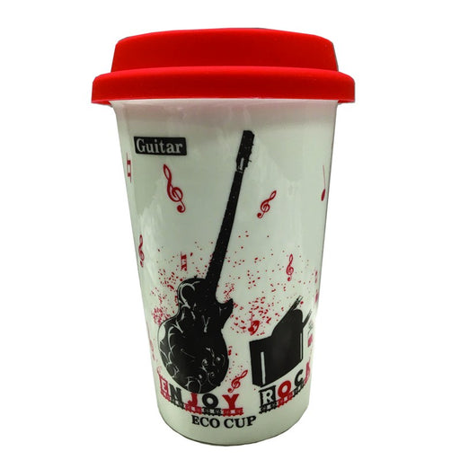 Music Travel Mug Guitar