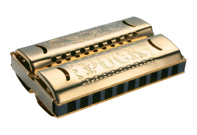 Hohner Miniatures Series 553 Double Puck Harmonica in the Key of C/G