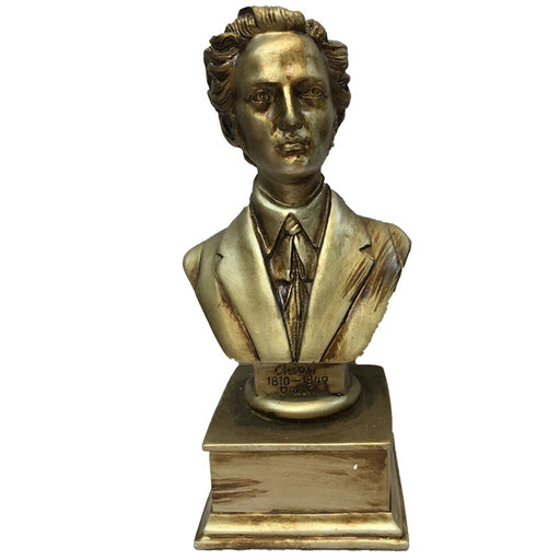 Frederic Chopin Composer Bust Statue (L)