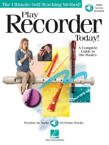 Play Recorder Today Method Book