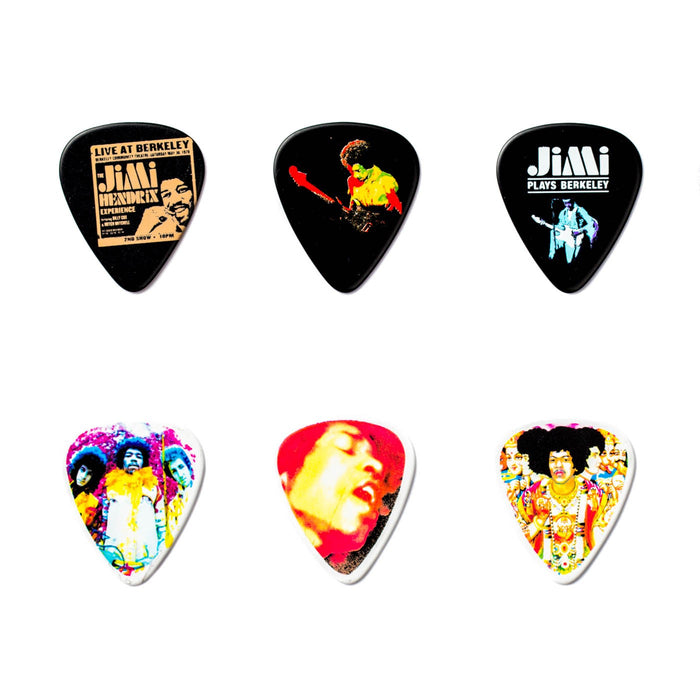 "Jim Dunlop Collector's Picks/Pick Tin - Jimi Hendrix ""Bold As Love"""