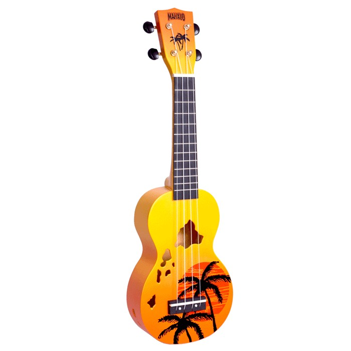 Mahalo Hawaian Ukulele Orange
