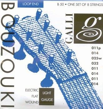 Galli Electric Flat Wound Bouzouki String Set