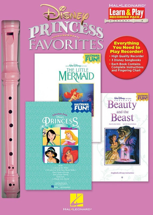 Disney Princess Favorites Recorder Pack
