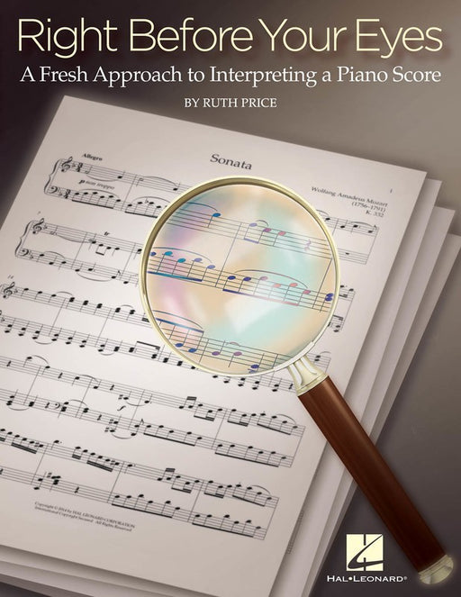 Right Before Your Eyes - Interpreting the Piano Score