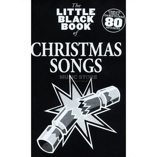 Litte Black Book of Christmas Songs