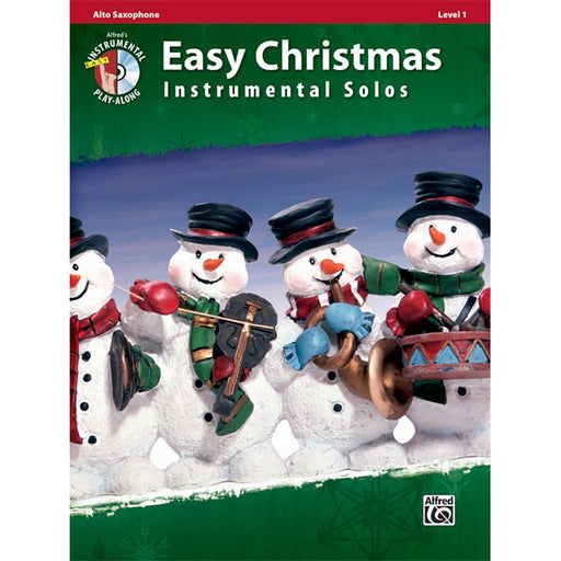 Easy Christmas Instrumental Solos Alto Saxophone Bk/CD