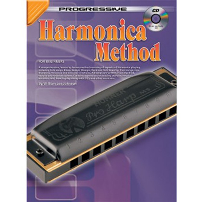 Progressive Harmonica Method by William Lee Johnson by
