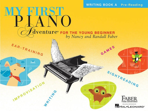 My First Piano Adventure Writing Book