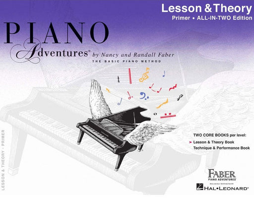 Piano Adventures All in Two : Lesson & Theory
