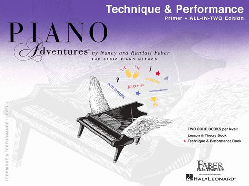 Piano Adventures All in Two : Technique & Performance