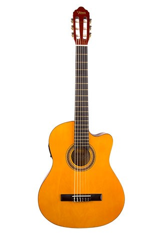 Valencia Electric/Acoustic Nylon String Classical Guitar