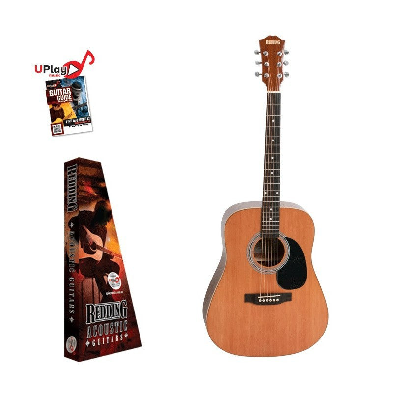 Redding RED72 Acoustic Guitar Dreadnought