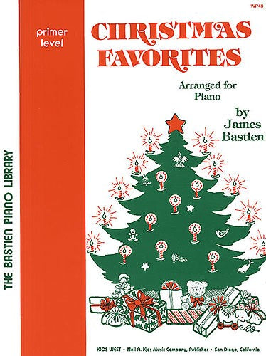 Christmas Favourites Primer Level Bastien by Bastien