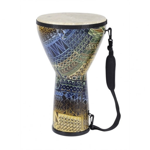REMO 10 Inch Djembe w/ Rainbow Finish