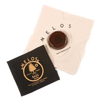 Melos Dark Double Bass Rosin Large