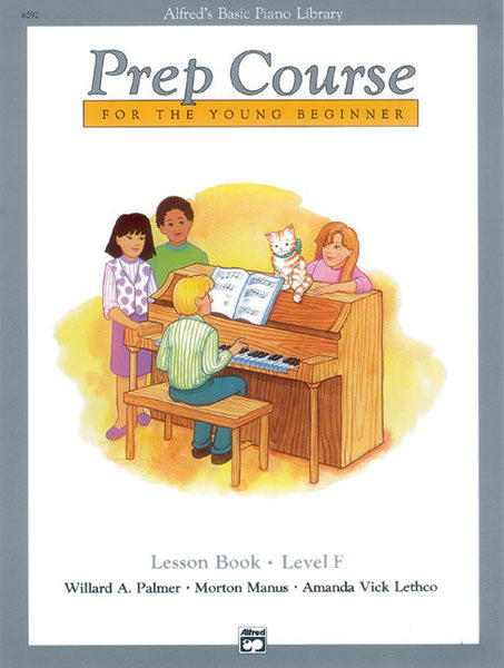 Alfred's Basic Piano Prep Course - Lesson Book