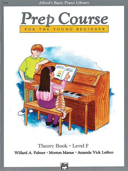 Alfred's Basic Piano Prep Course - Theory Book