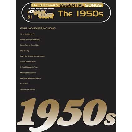 Ez Play Essential Songs of the 1950's by Hal Leonard