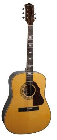 Silvertone Dreadnought Solid Top 955NAT
