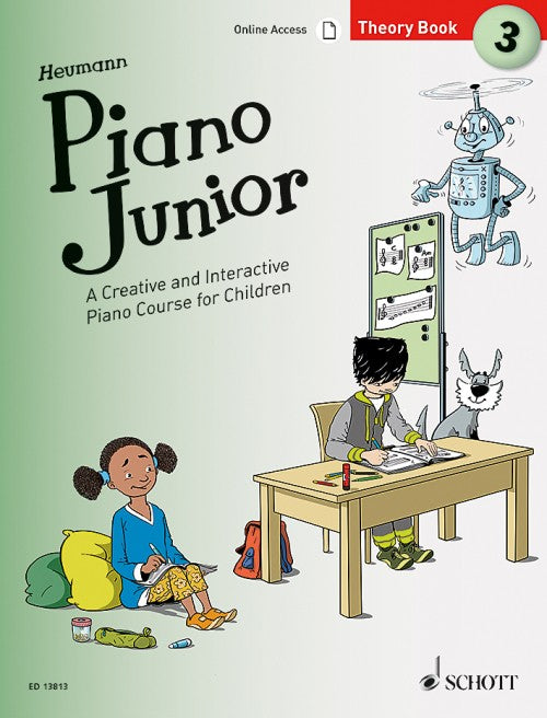 Heumann Piano Junior Theory Book
