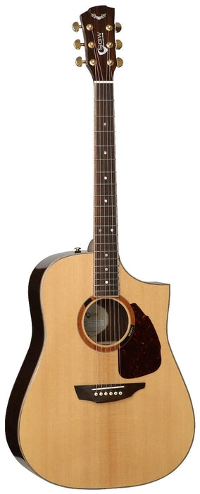 Samick Acoustic Guitar Dreadnought Cutaway S750D