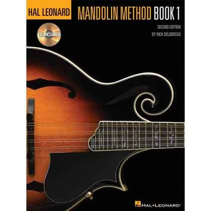 Mandolin Method Book 1 Book/CD by Hal Leonard