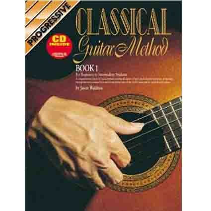 Progressive Classical Guitar Method by Jason Waldron by