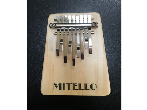 Kalimba with 9 Plated Steel Keys