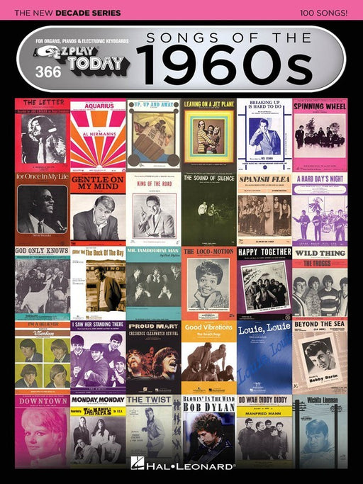 EZ Play 366 Songs of the 1960s - The New Decade Series