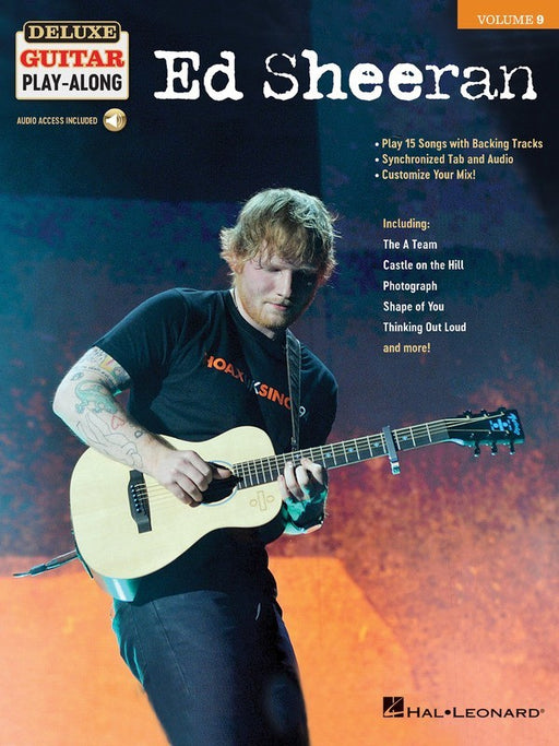 Ed Sheeran Deluxe Guitar Play-Along Volume 9