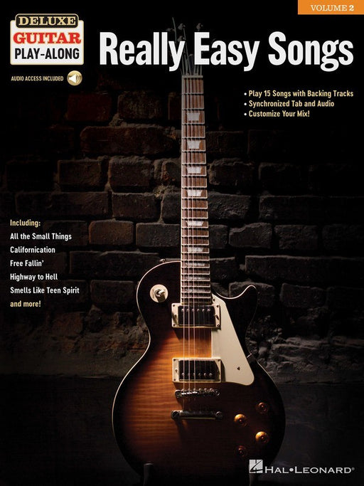 Really Easy Songs Deluxe Guitar Play-Along Volume 2