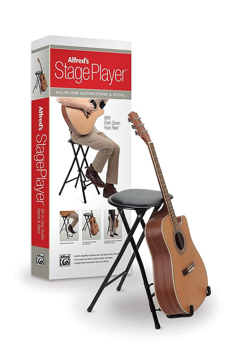 Stage Player Guitar Stand and Stool