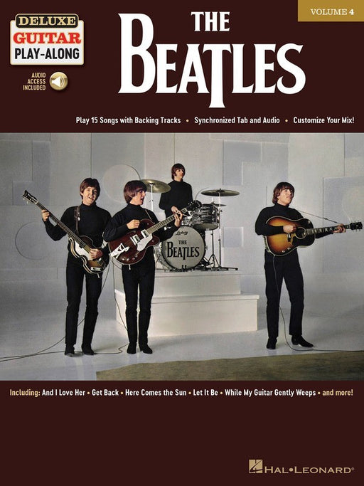 The Beatles Deluxe Guitar Play-Along Volume 4