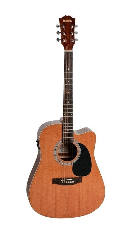 Redding Dreadnought Electric/Acoustic Guitar