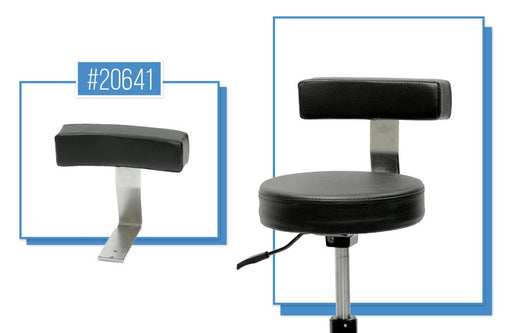 Double Bass Players Stool Lumbar Support Bracket