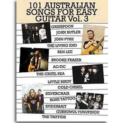 101 Australian Songs Easy Guitar Vol 3 by