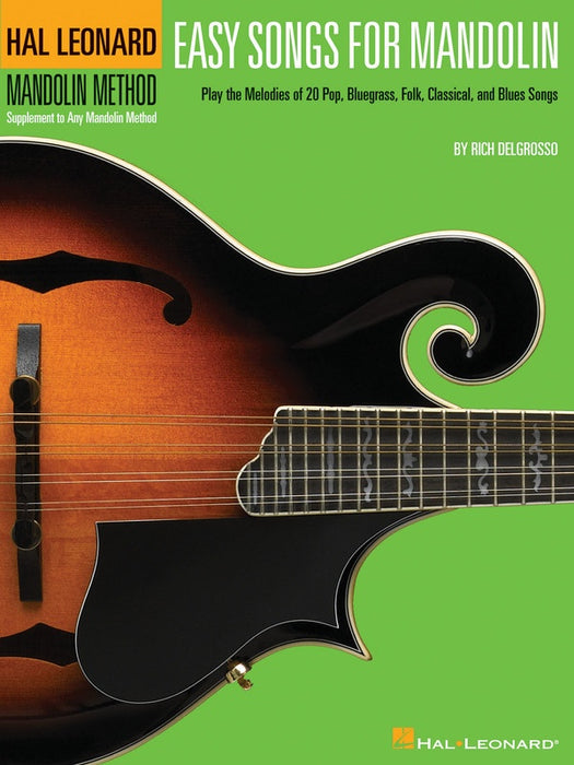 Easy Songs for Mandolin Bk