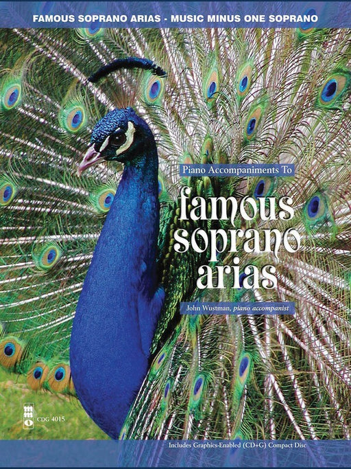 Famous Soprano Arias Sing-Along Book/CD Pack