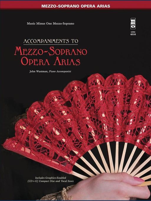 Famous Mezzo-Soprano Arias Sing-Along Book/CD Pack