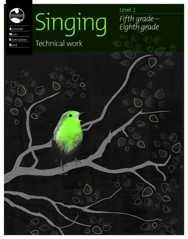 Singing Technical Work Book - 2010 Fifth to Eighth Grade