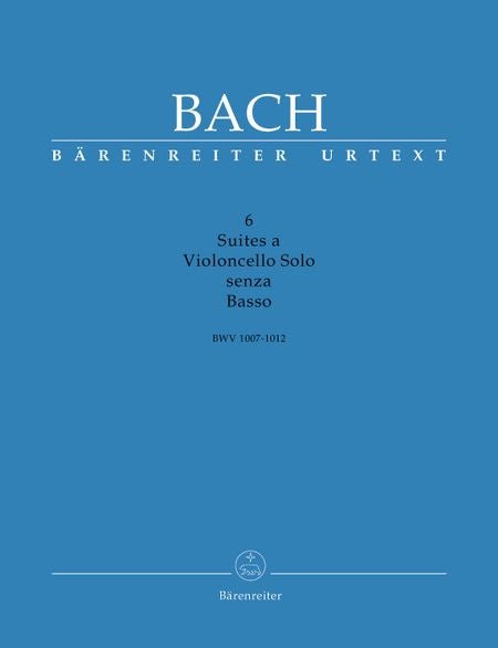6 Suites for Cello Solo by Bach by