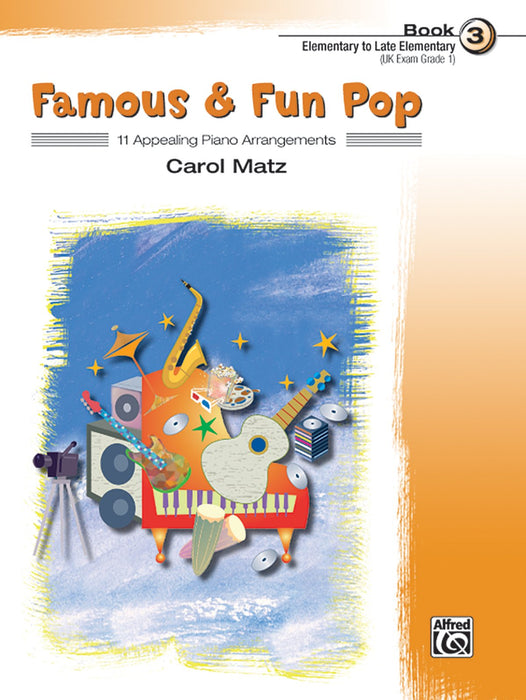 Famous and Fun Pop Book by Carol Matz