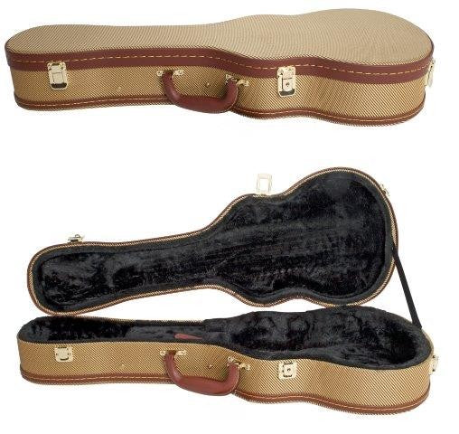 Ukulele Case Tenor Size Brown Tweed